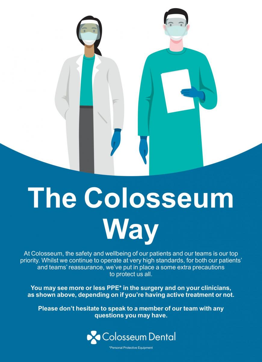 The Colosseum Way flyer